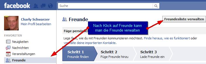 Sicherheitseinstellungen auf Facebook - Freundeslisten und deren Verwaltung (1/6)