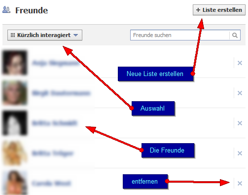 Sicherheitseinstellungen auf Facebook - Freundeslisten und deren Verwaltung (2/6)