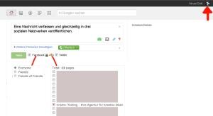 Publish Sync für Facebook, Google+ und Twitter