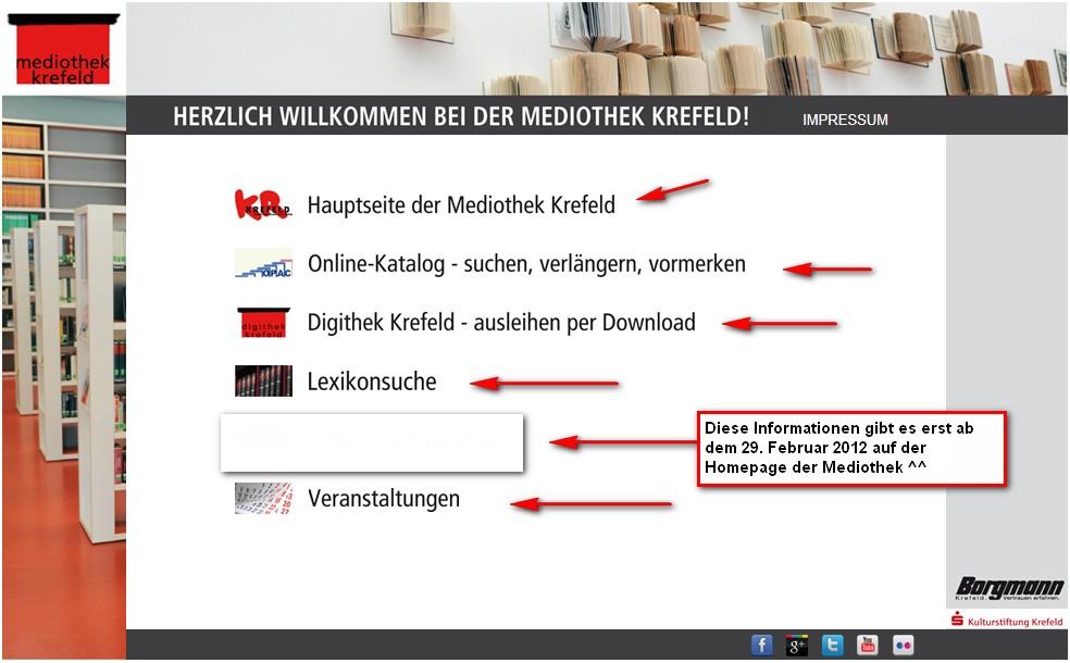 mediothek krefeld online dating